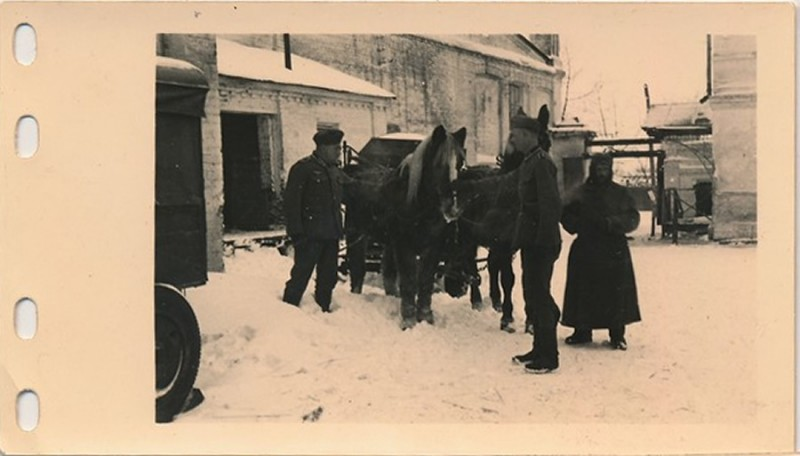 1.Sanitats-Kompanie, 79.Infanterie Division у ворот на новомосковскую