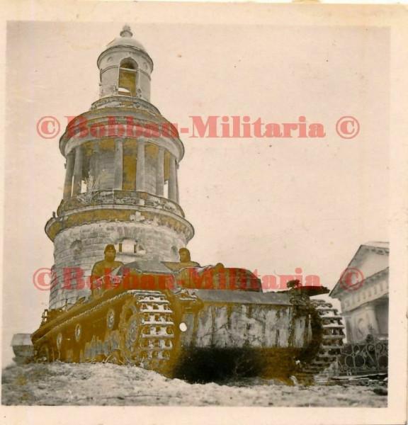 Церковь Николая Чудотворца в с.Никольском Рузского р-на,  1941