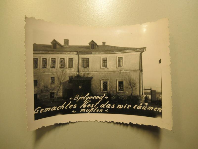 1941 altes Foto Soldaten Unterkunft 2 Belgorod Бе́лгород Rußland Russia