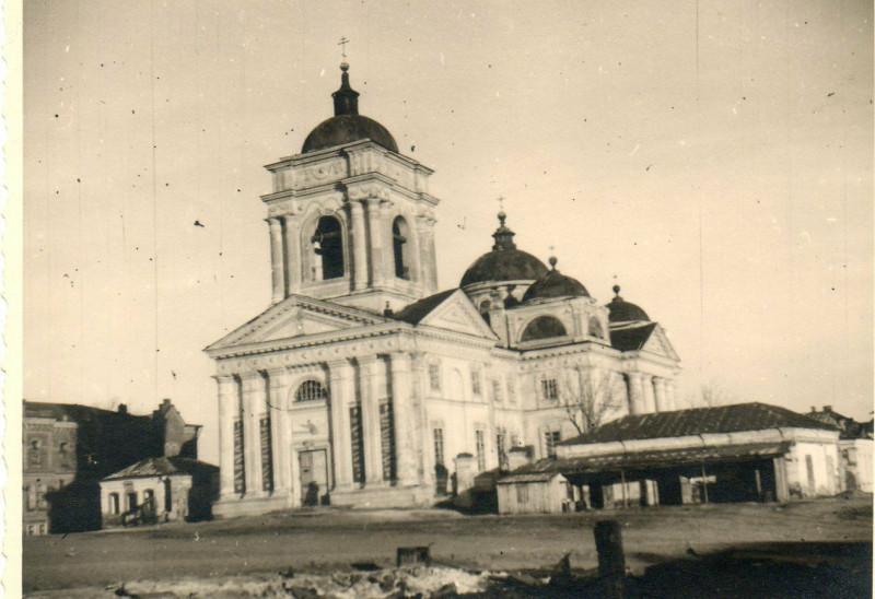 Schw Artillerie Abt. 852. Belgorod Russland Ostfront Orthodoxe Kathedrale Kirche.jpg