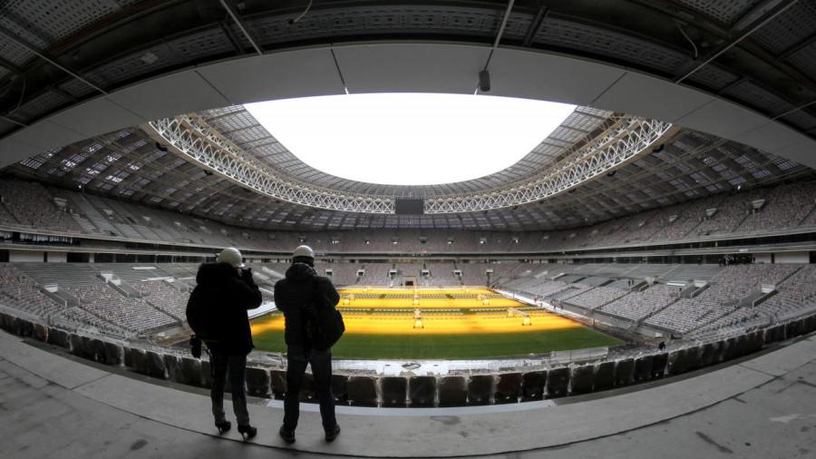 Первый матч на стадионе Лужники: халтура организаторов
