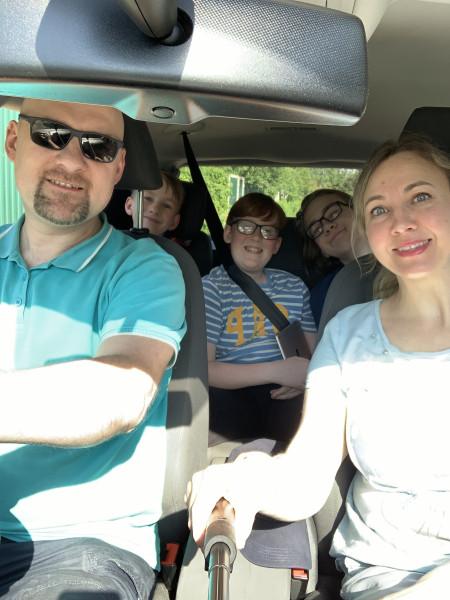 Семейное путешествие в Ярославль