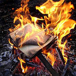 книги горят