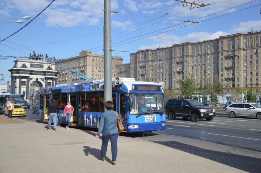 Божественная суббота в Синем троллейбусе-1