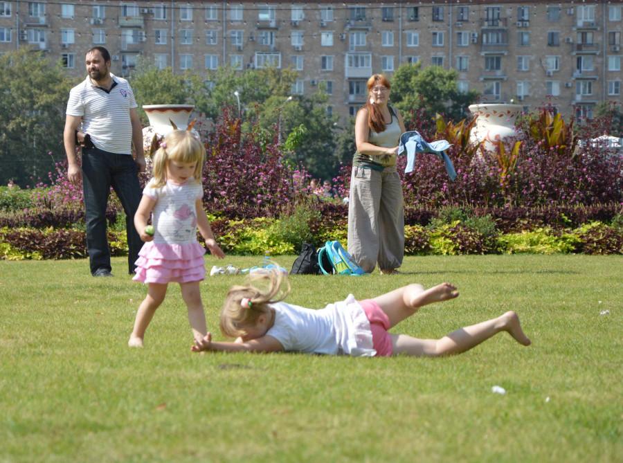 Московские пары13в21гП6 Косички и сестрички