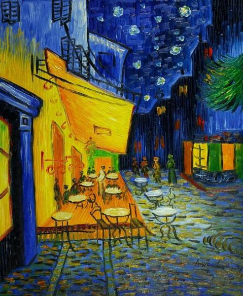 Ван Гог Ночное кафе в Арле