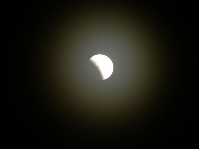 Лунное затмение в блоге Владимира Азарта