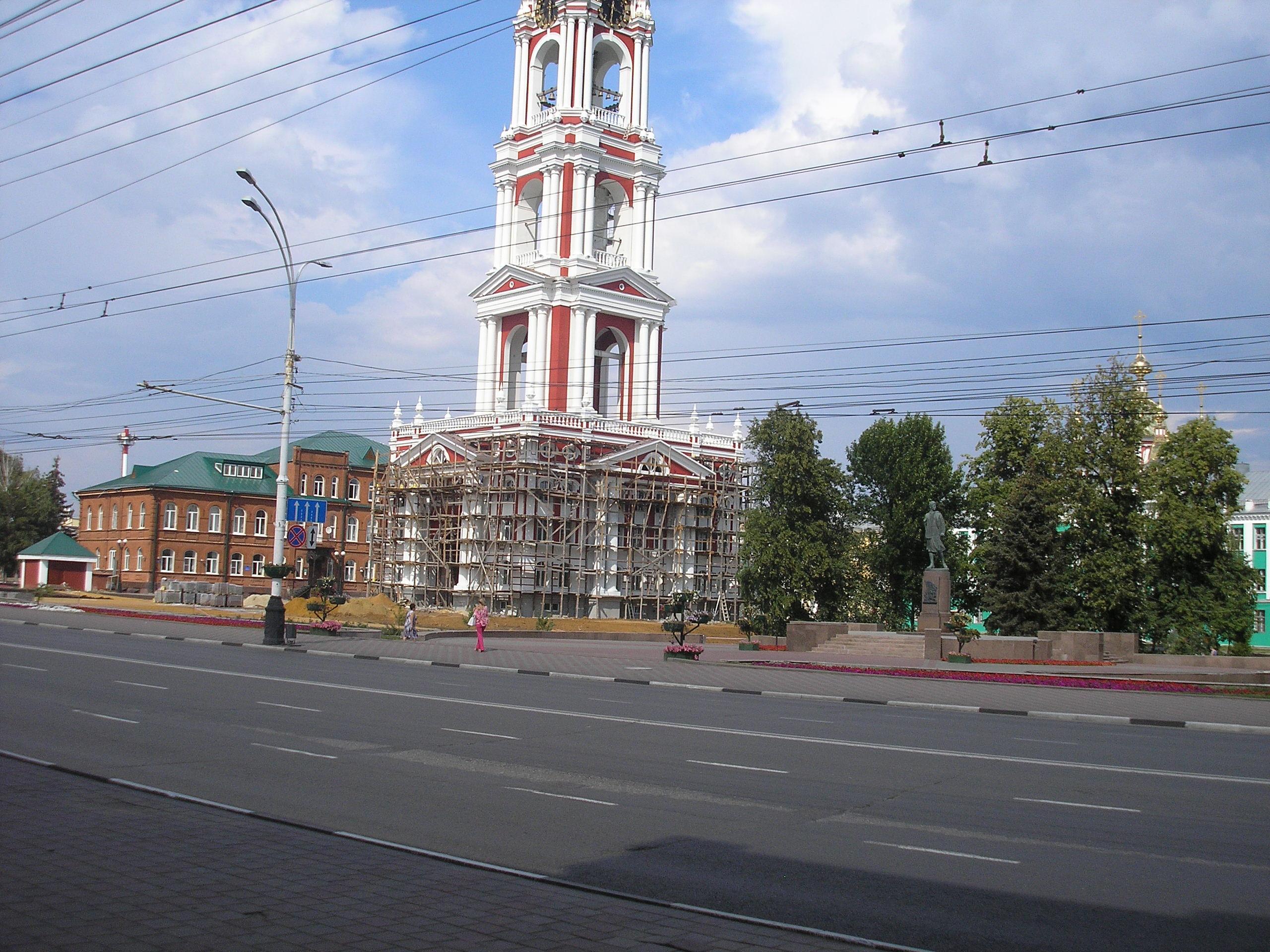 Колокольня Казанского монастыря