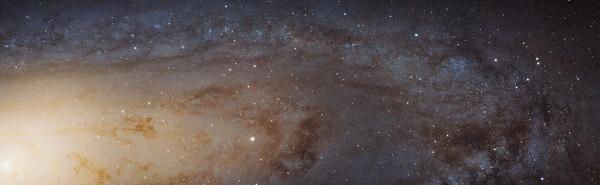 Галактика Андромеды_новое фото НАСА