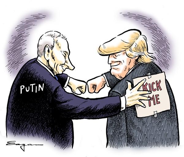 Картинки по запросу Трамп карикатуры