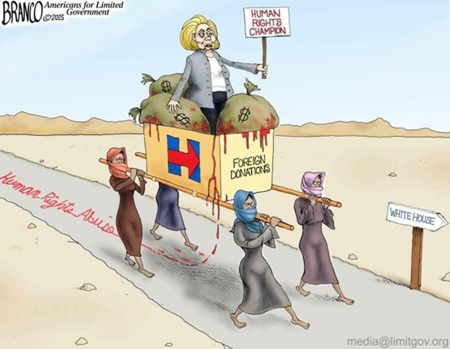 Хиллари сломалась, дайте другую...