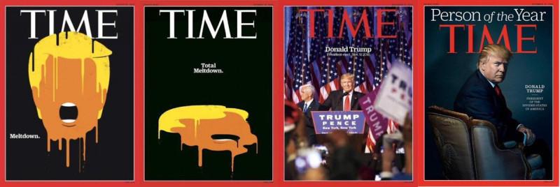 "Американский солдат и протестующий побеждают в номинации ""Time"""