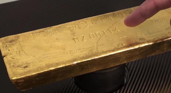 Если вдруг задумаете покупать золотой слиток, проверьте, не принадлежит ли он Ротшильду)