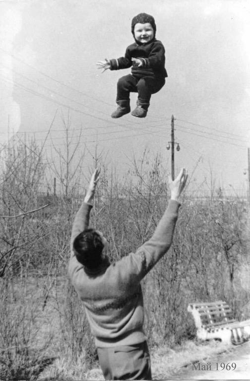 Рекорды подбрасывания ребёнка вверх