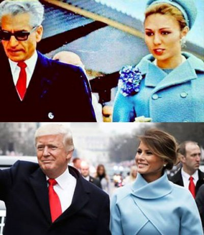 Красное под черным_Пехлеви и Трамп