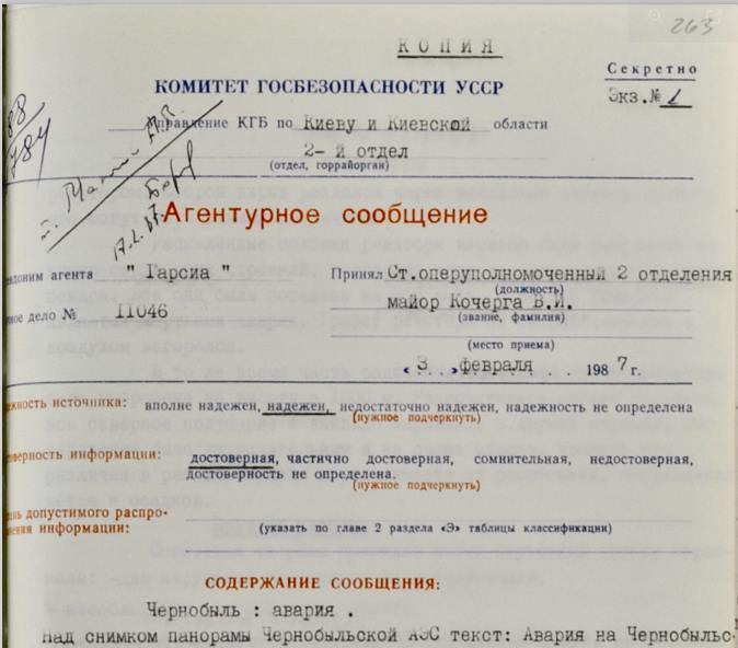 Вечерний политрук (повторение): Чернобыль как элемент информационной войны с СССР