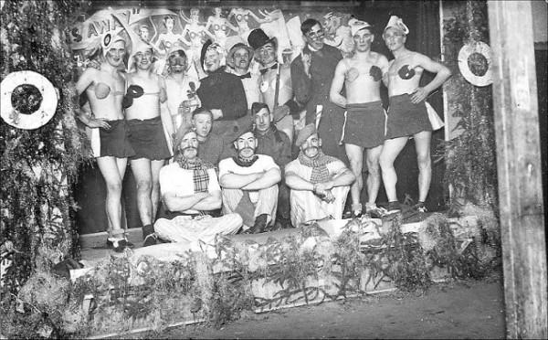 Лагерная жизнь в фашистской Германии