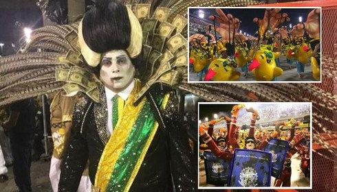 Нынешний карнавал в Рио был политическим