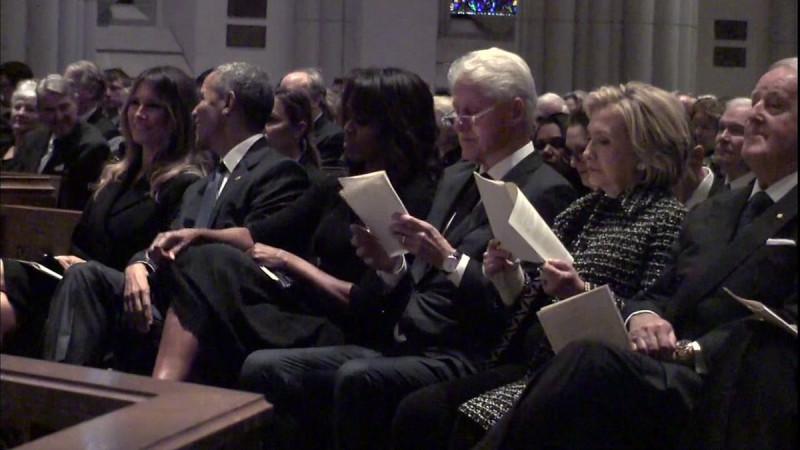 Четыре президента и три первые леди (одна из них мертвая)