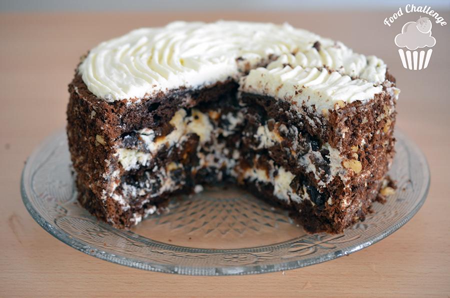 Торт с черносливом рецепт