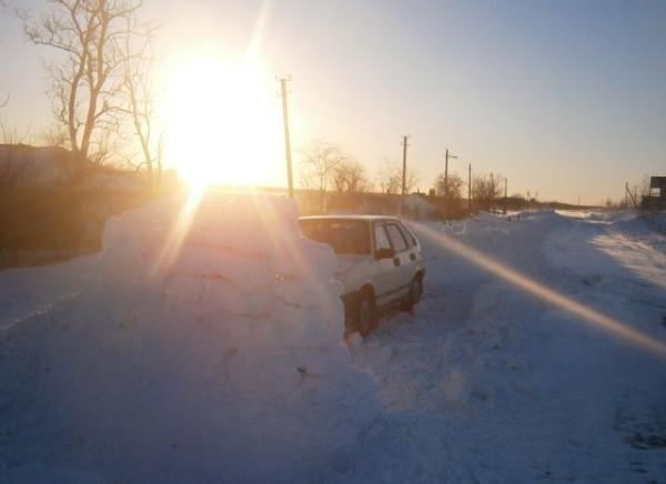Снежное солнце