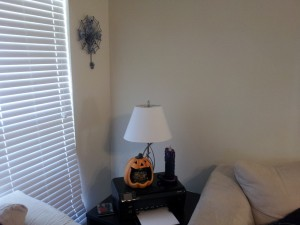 End Table & Clock