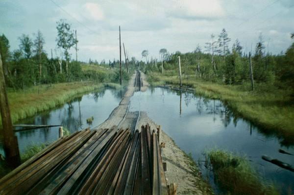 Посёлок Саменжа Вытегорского района Вологодской области