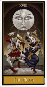 """Акция на Таро """"Сумасшедшая Луна""""."""