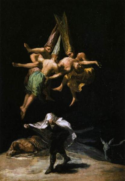 snej_ik - Картины Франсиско Гойя о колдовстве.