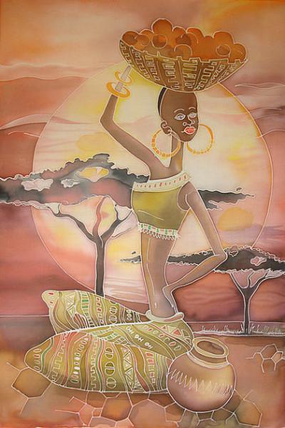 панно африка