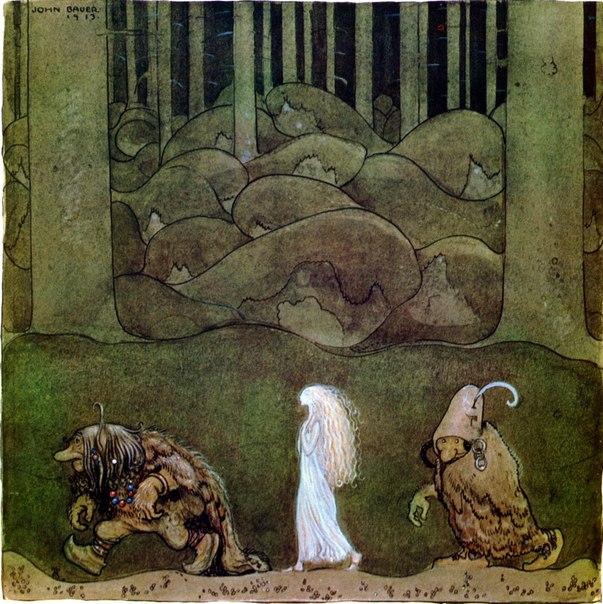 Эльфы в исландских сказках.