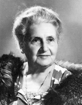 Мария Монтессори.