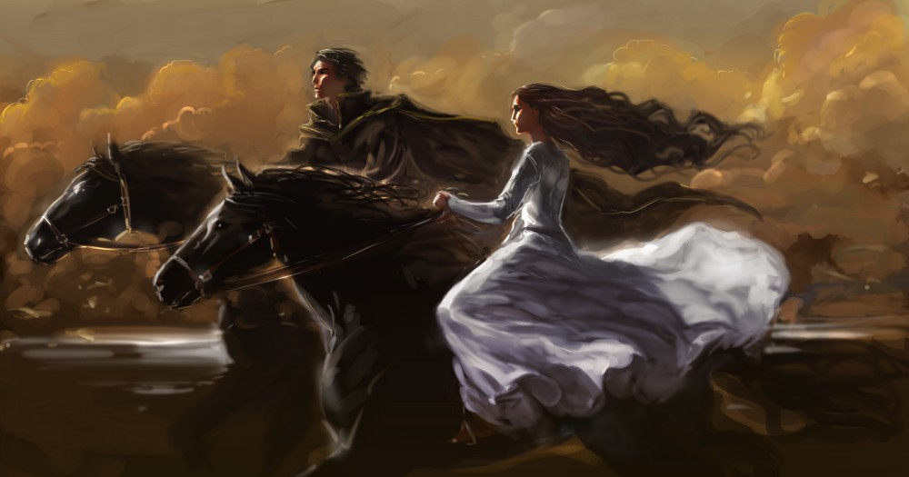 Horses_Two_Dress_446019