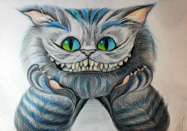 art-чеширский-кот-песочница-котэ-276316