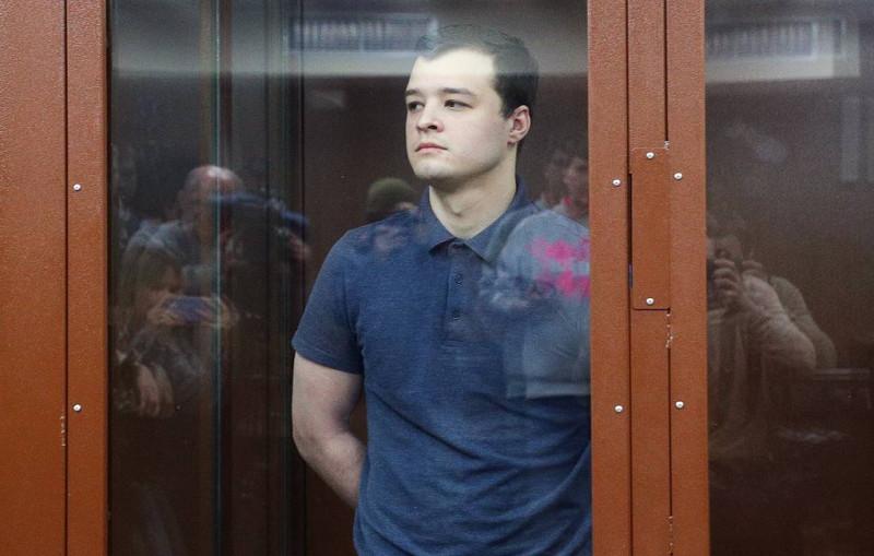 Чирцова за нападение на полицейского 27 июля приговорили к одному году отбывания срока в колонии