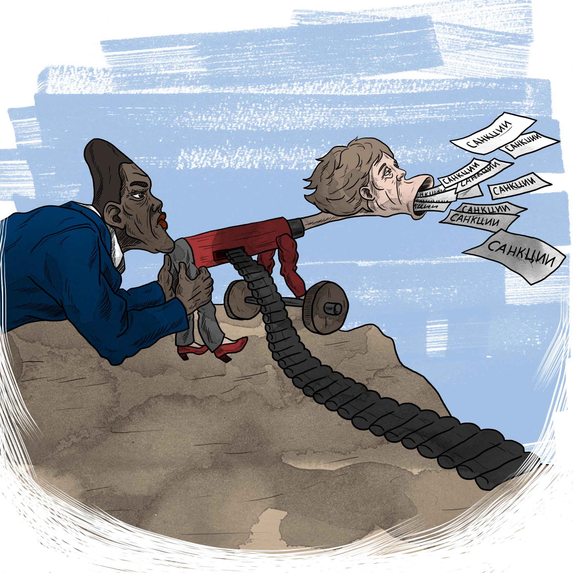 Меркель пригрозила России новыми санкциями за нарушение минского пакета