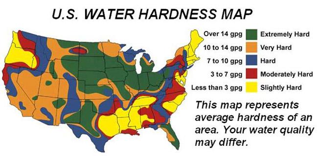 hard water map the no 39 poo method. Black Bedroom Furniture Sets. Home Design Ideas