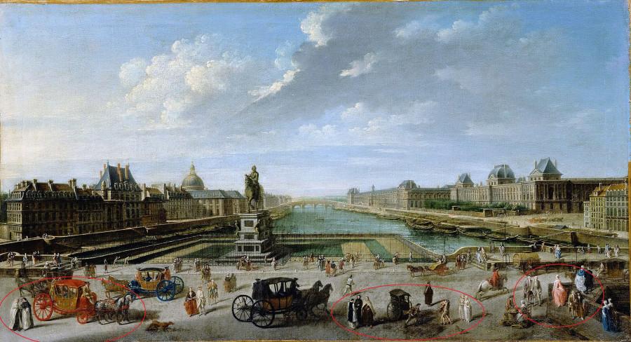 Вид Парижа с Нового моста (44х82 см) 1763 р.jpg