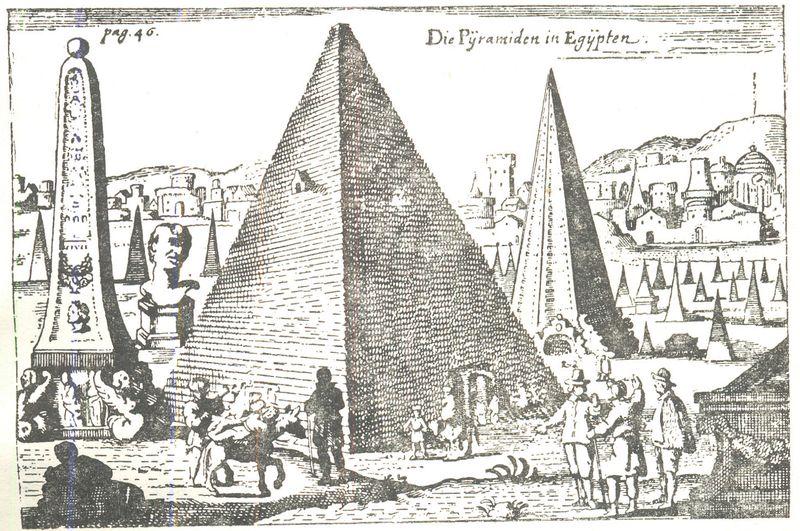 Voyages en Egypte des annees 1589 (Voyageurs occidentaux en Égypte, vol. 3) (1589, by Jan Sommer, Institut de France.jpg