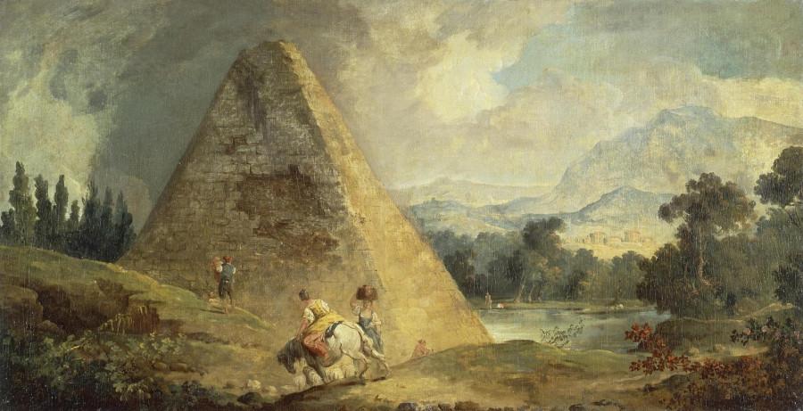 1765_Пирамида Цестия (Pyramid of Cestius)_67.5 x 131_х., м._Санкт-Петербург, Эрмитаж.jpg