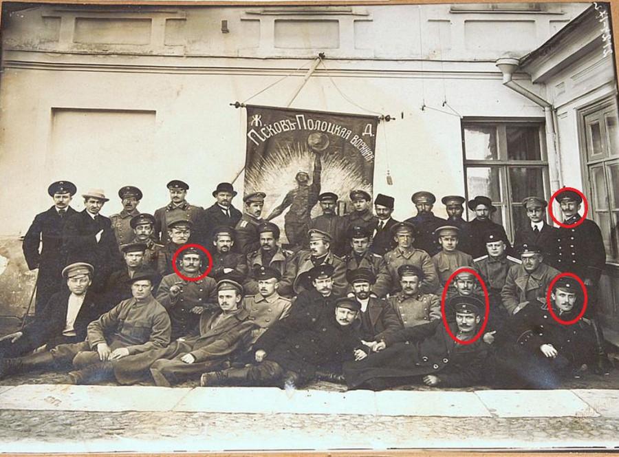 Псков-Полоцкая ВОЕН. Ж.Д 1917.jpg