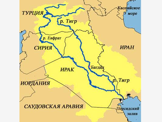 Тигр Евфрат
