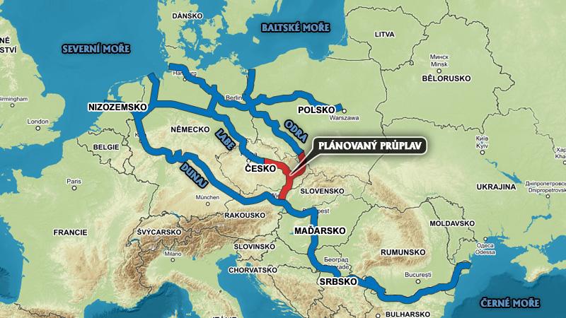 канал Дунай-Одра-Эльба