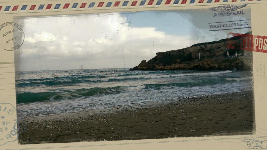 кипр море
