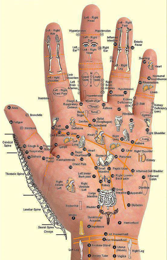 рука-