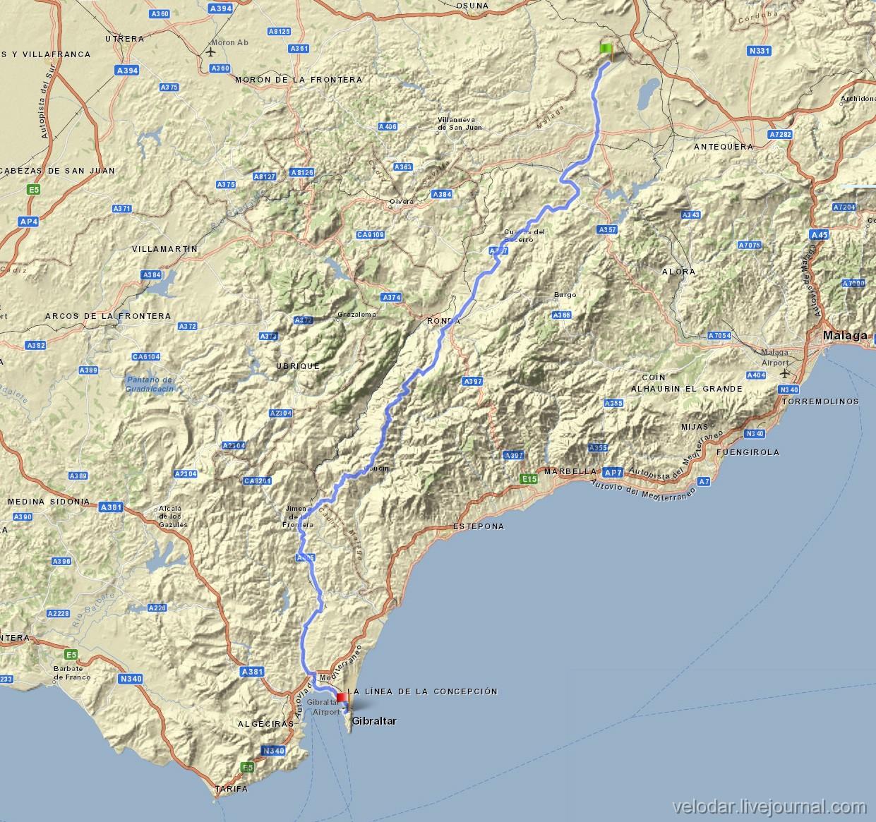 Day 50 Sierra de Yeguas - Gibraltar.jpg