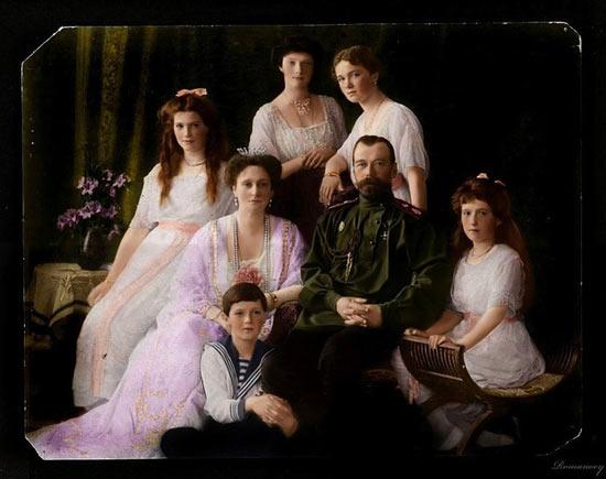 Семья царя