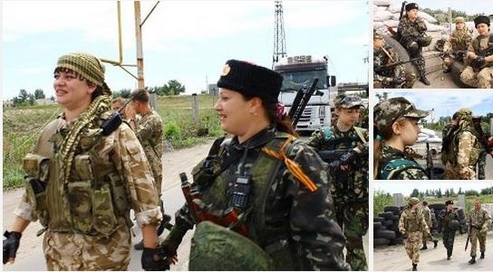 Героические женщины Новороссии