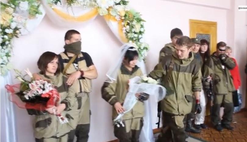 Донецк ополченки октябрь 2014