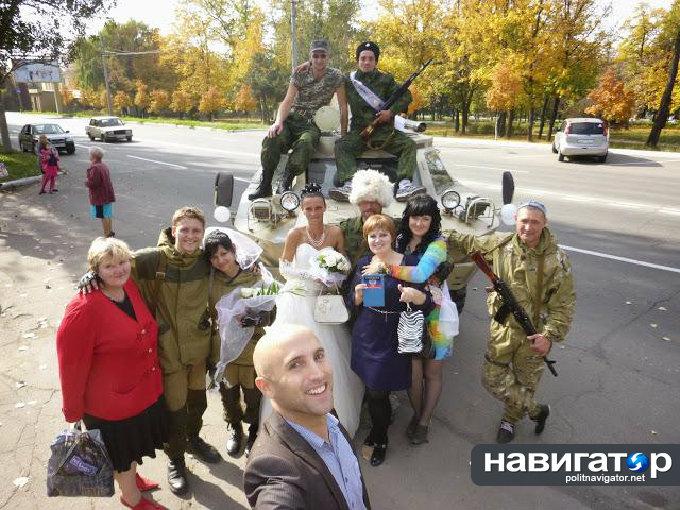 Невестки-ополченки Донецк Ясиноватая окт_2014